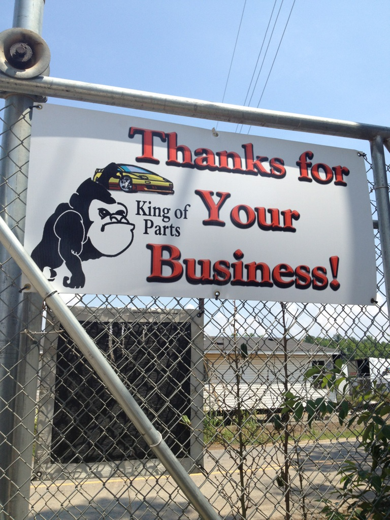 Thanks for Your Business!